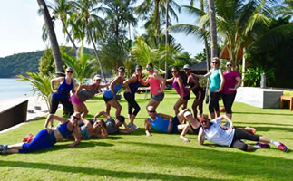 5 Star Fitness Retreat, Koh Samui, with Chrissy Denton
